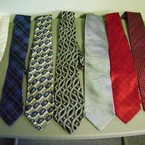 7 Ties. Geoffrey Beene Arthur Payne Courchevel Carlos Devenezia Others Photo