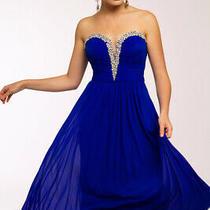 70% Off Long Prom Dress Jvn by Jovani Jvn90365 Color Blush Size 4 Photo