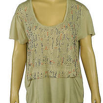 72435 New Ecote Urban Outfitters Embellished Tunic Top Large L 12 Photo
