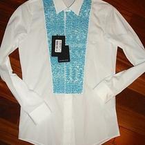 750. New Authentic Viktor & Rolf Monsieur Secuin Dress Shirt M/italy Size 46/36 Photo
