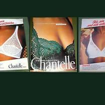 78's Chantelle Paris Bra Lingerie  3sheets Magazine Adv Photo
