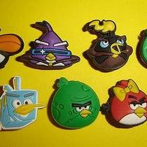 7x Angry Birds Mix Collection Jibbitz Crocs Charms Pins Photo