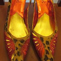 8.5 N Jeffrey Campbell Pony Hair Leopard Snake Skin 3