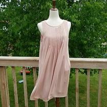 8 Hope & Harlow Blush Pleated Dress Photo