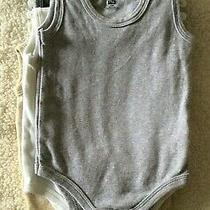 8 Hudson Baby Boy One Piece Sleeveless Bodysuits Size 18 Month Photo