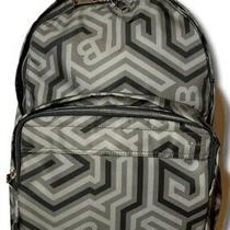 800 Bally Wolfson Nylon Backpack Printed With Leather Trim Photo