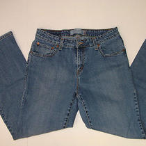 804e Womens Jeans Denim by Levi's 515 Boot Cut Sz 12 14 34 X 29  Photo
