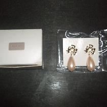 80sfancydressparty Avon Peach Pearl Pierced Earrings With Surgical Steel Posts  Photo