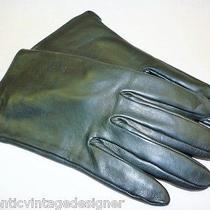 860 Authentic Louis Vuitton Bagatelle Ladies Gloves - Size L Photo