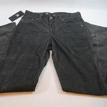 88 Nwt Mens Rock & Republic Gravel Courderoy Straight Leg Neil Pants 40x32 Photo