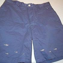 89.5 Nwot Vineyard Vines Men's Cotton Shorts Size 34x9 Photo