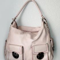 895 Beautiful Marc Jacobs Pink Leather Multi-Pocket Hobo Photo