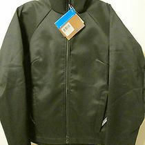 90 Columbia Sportswear Black Softshell Jacket Sz M Fleece Lined Zippered Nwt Photo