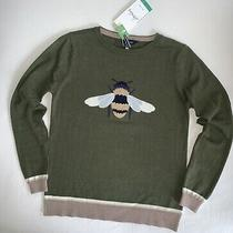 90 Nwt Joules Miranda Bumble Bee Sweater Olive Gold Shimmer Anthropologie Xs 4 Photo