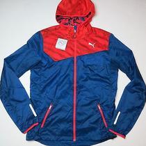 90 Puma Jacket Wind Cell Hooded Coat Windwear - Medium Photo