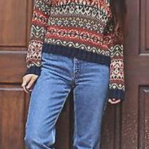 90's Grunge Knit Sweater Abercrombie & Fitch Size S Photo