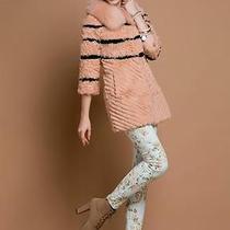 90327 New Real Fox  Collar rabbit&lamb Fur  4 Color Jacket/coat/outwear Photo
