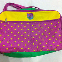 90s Vintage Barney & Friends Bag  Peter Max Avant Garde Barbie Moschino Toy Ktz Photo