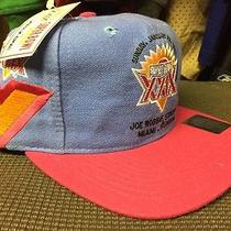 90s Vtg 1995 Super Bowl Xxix 29 Snapback Hat by Apex One 49ers vs Chargers Photo