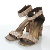 91-79  New 160 Women's Sz 8 M Jeffrey Campbell Lorena Embellished Strap Sandal Photo