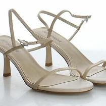 92-43 Msrp 125 Women's Size 8.5m Jeffrey Campbell Pletana Brown Leather Sandals Photo