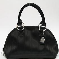 940290 Harvey the Original Seat Belt Bag Black Small Belle Satchel Purse Photo