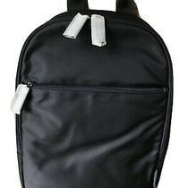 950 Bally Navy Solid Mens Nylon Backpack Photo