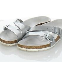 97-14 100 Women's Sz 8 M Birkenstock Yao Birko-Flor Hard Footbed Sandal Photo