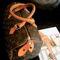 970taxes Louis Vuitton Monogram Speedy 30 Boston Hand Bag Photo