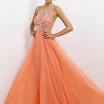 9723 Blush Prom Coral Pink Size 6 Photo