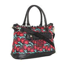 98 Betsey Johnson Satchel Messenger Bag Handbag Tote New Photo