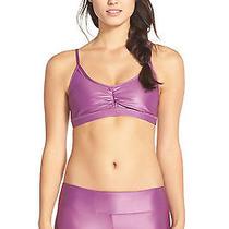 98 New Koral Activewear Element Sports Bra in Purple Sz S Photo