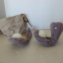 99 Ugg Australia Purple Wool Flats Size 5 Photo