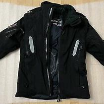 995 Rlx Ralph Lauren Xs Black Jacket Utility Ski Sport Polo Rrl Recco Hood Photo