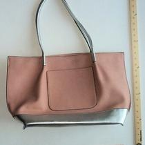 A and I Purse Blush Pink & Silver Shoulder Tote Ladies Bag - Flash Sale Photo