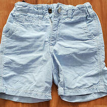 A Baby Gap Light Blue Boys Summer Shorts 100% Cotton Size 4 Years Photo