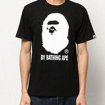 A Bathing Ape Swarovski by Bathing Ape Tee M Size Black Cool Men Bape Head 1st R Photo