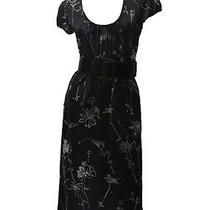 a Black Summer Dress With Prints by Bcbg. Size M. Photo