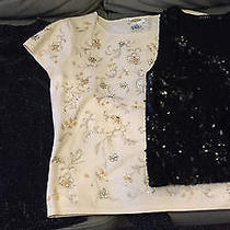 A Collection of 3 Fun Dressy Sparkle Tops - Medium Photo