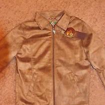 A Collezioni Suede Jacket. Photo