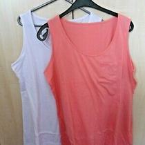 a Fantastic Pack of Two Casual Womens Sleeveless Vest Tops  From Avon Photo