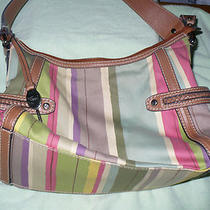 A Fossil Modern Vintage Multi Color Handbag Photo