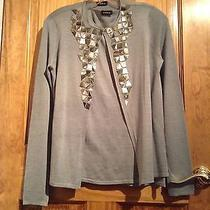 A-K-R-I-S Light Green/blue Mother of Pearl Outfit 2 Piece Set Photo