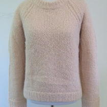 a.l.c. Bennie Chunky Knit Sweater Blush Size Extra Small 365 Gently Worn Photo