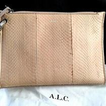 a.l.c  Joni Snakeskin Clutch Bag Photo