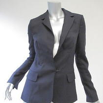 a.l.c. Navy Blazer W Black Water Snake Undercollar S Photo