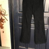 A L C Navy Blue / Black Striped Pants Size 2 Photo