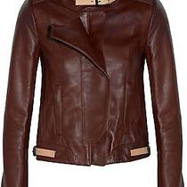 a.l.c. Shaw Designer Leather Jacket Size 2 Like New 1595 Photo