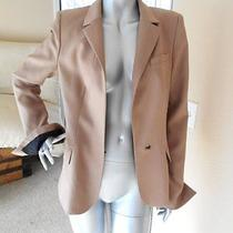 a.l.c. Taupe Water Snake Skin Blazer Jacket 8 Photo