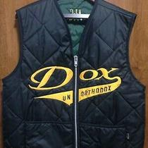 a.l.c. Wear Dox Unorthodox Mens Large Black Quilted Cool Zippered Vest - Lrg Photo